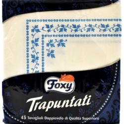 Foxy tovaglioli trapuntateigrant. 2 veli x45