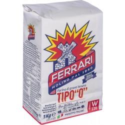 Ferrari farina bianca 0 - kg.1