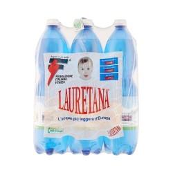 Lauretana acqua leggermente frizzante lt.1,5x6