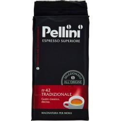 Pellini caffè Espresso Superiore n°42 Tradizionale 250 gr.