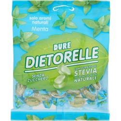 Dietorelle Dure Menta senza zucchero con estratto di Stevia naturale 70 gr.