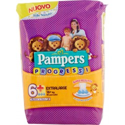 Pampers progressi extralarge x18