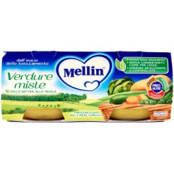 Mellin omogeneizzato verdure miste - gr.80 x2
