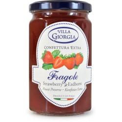 Villa Giorgia confettura di fragole gr.350