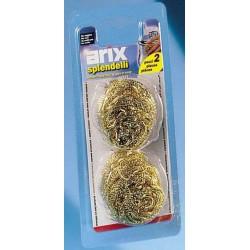 Arix spugne pagliette oro x2