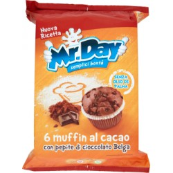 Mr day muffin cacao - gr.252 x6