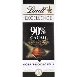 Lindt tavoletta cacao 90% excellence gr.100