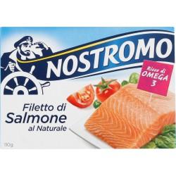 Nostromo filetti salmone al naturale - gr.110