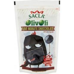 Saclà OlivOlì Olive Morate Snocciolate Senza Liquido 75 gr.