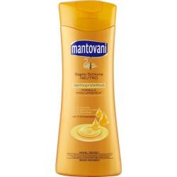 Mantovani Bagno Schiuma Neutro con 3 Oli Cosmetici 500 ml.