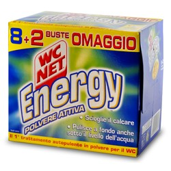 Wc net energy polvere busta 8+2