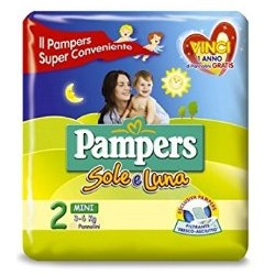 Pampers sole luna mini x22