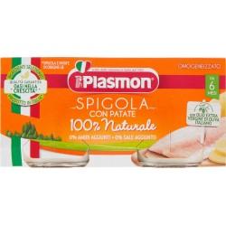 Plasmon Spigola con Patate Omogeneizzato 2 x 80 g