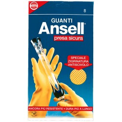 Ansell guanti presa sicura 8