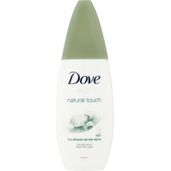 Dove Natural touch con minerali del mar Morto no gas 75 ml.