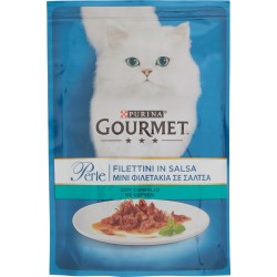 PURINA GOURMET Perle Gatto Filettini con Coniglio Busta 85g