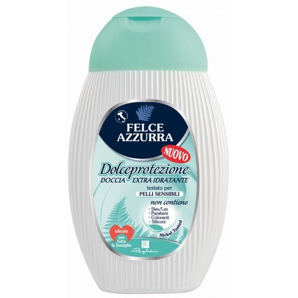 Doccia Ml200 Felce Azzurra Dolce Schiuma Idratante Extra Protezione ZwXOTPuki