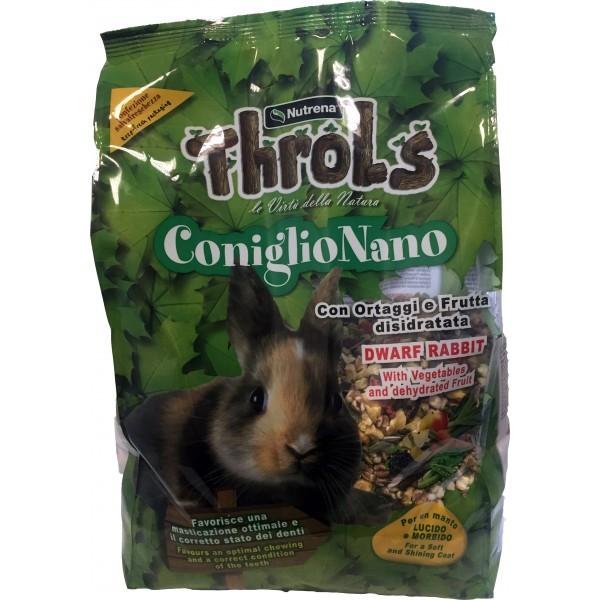 Nutrena throls coniglio nano kg.2,5 in offerta a prezzo scontato