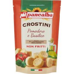 Panealba crostini pomodoro basilico - gr.100