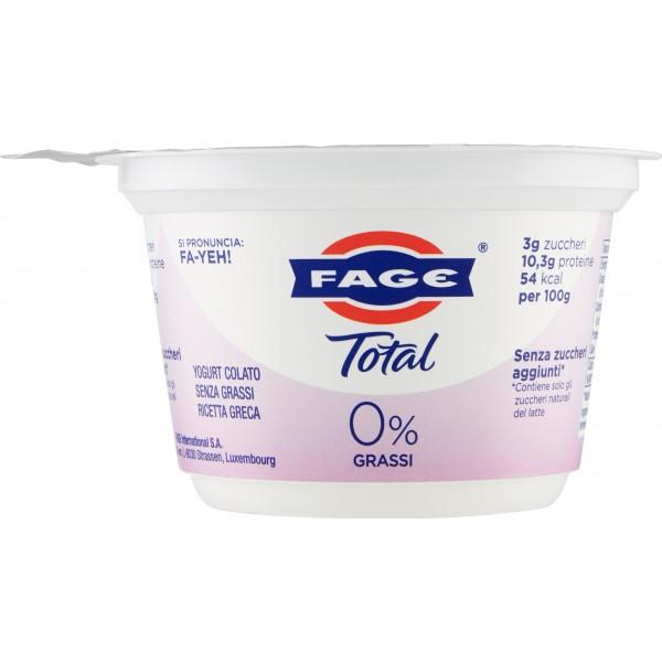 Fage yogurt total 0% gr.170