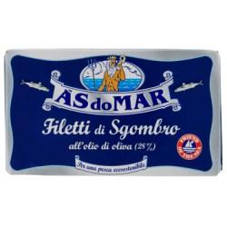 Asdomar filetti sgombro olio oliva - gr.125