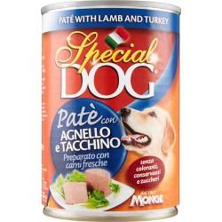 Special dog pate agnello e tacchino - gr.400
