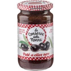 Le conserve della Nonna patè olive nere gr.190
