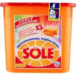 Sole gel caps ecodosi color x18