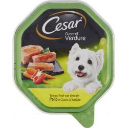 Cesar Cuore di Verdure Tenero Paté con delicato Pollo e Cuore di Verdure 150 gr.