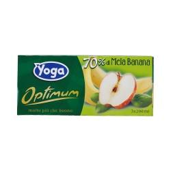 Yoga optimum succo mela/banana cl.20 x3