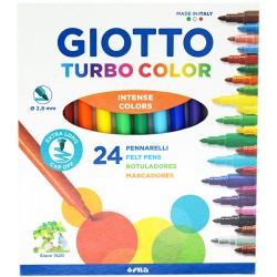 Pennarelli Giotto turbo color 24 colori