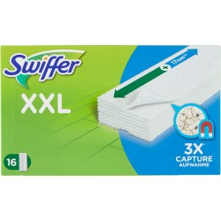 Swiffer XXL Panni Catturapolvere per Scopa Swiffer - Ricarica 16 Panni