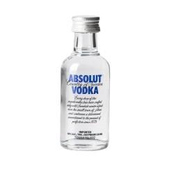 Absolut vodka mignon cl.5
