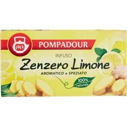 Pompadour infuso zenzero limone x20