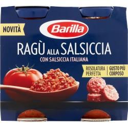 Barilla ragù salsiccia - gr.180 x2