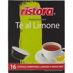 Ristora the al limone capsule x16