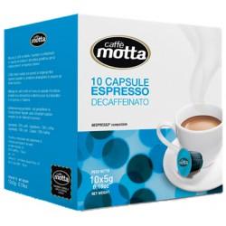 Motta caffe cialde decaffeinato x10