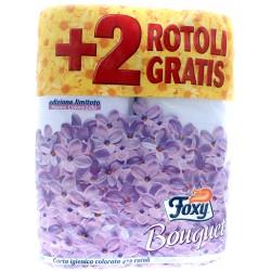 Foxy carta igienica colorata 4+2