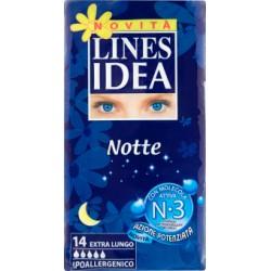 Lines idea notte extralungo x14