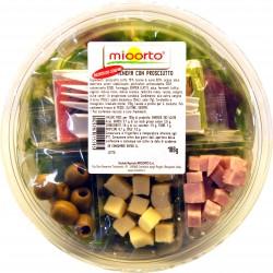 Mioorto insalata tenera con prosciutto gr.186