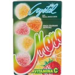 Morositas Crystal gusti fragola, arancia e limone gr.50x2