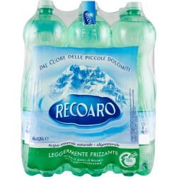 Recoaro acqua leggermente frizzante lt.1,5x6