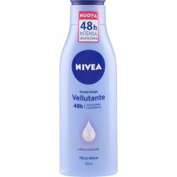 Nivea Crema Corpo Vellutante 48h Siero Idratazione Intensa e Burro di Karité 250 ml.