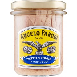 Angelo Parodi Filetti di tonno in olio d'oliva 195 gr.