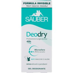 Sauber deodry gel 48h - ml. 25