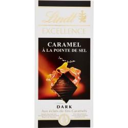 Lindt Excellence Caramel à la Pointe de Sel 100 gr.