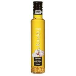 Casa Rinaldi olio extra vergine d'oliva con aglio ml.250