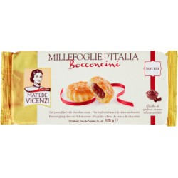 Pasticceria Matilde Vicenzi Millefoglie d'Italia Bocconcini 125 gr.