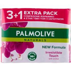 Palmolive Naturals Irresistible Touch Sapone da Toilette 4 x 90 gr.