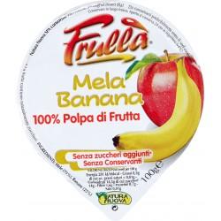 Natura frulla polpa mela/banana - gr.100